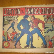 Giornalini: EL JINETE FANTASMA Nº 4. CAPITAN DE ENMASCARADOS. EDITORIAL GRAFIDEA. ORIGINAL.. Lote 147563914