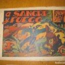 Tebeos: EL JINETE FANTASMA Nº 19. A SANGRE Y FUEGO. EDITORIAL GRAFIDEA. ORIGINAL.. Lote 147564706