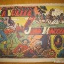 Tebeos: EL JINETE FANTASMA Nº 18. LA VUELTA AL MUNDO DE DON JUAN MENDOZA. EDITORIAL GRAFIDEA. ORIGINAL.. Lote 147565018
