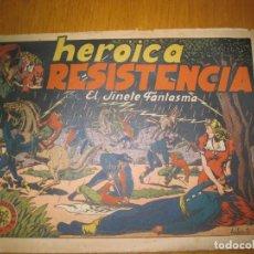 Tebeos: EL JINETE FANTASMA Nº 13. HEROICA RESISTENCIA.. EDITORIAL GRAFIDEA. ORIGINAL.. Lote 147571574