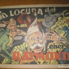 Tebeos: EL JINETE FANTASMA Nº 57. LA LOCURA DEL GENERAL RAYMOND. EDITORIAL GRAFIDEA. ORIGINAL.. Lote 147573638