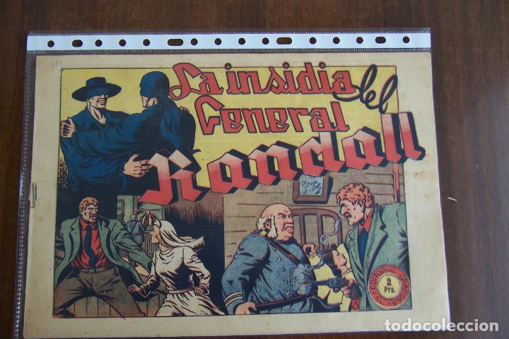EL JINETE FANTASMA Nº 114 LA INSIDIA DEL GENERAL RANDALL (Tebeos y Comics - Grafidea - El Jinete Fantasma)