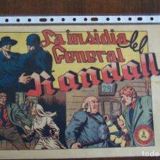 BDs: EL JINETE FANTASMA Nº 114 LA INSIDIA DEL GENERAL RANDALL. Lote 148218438