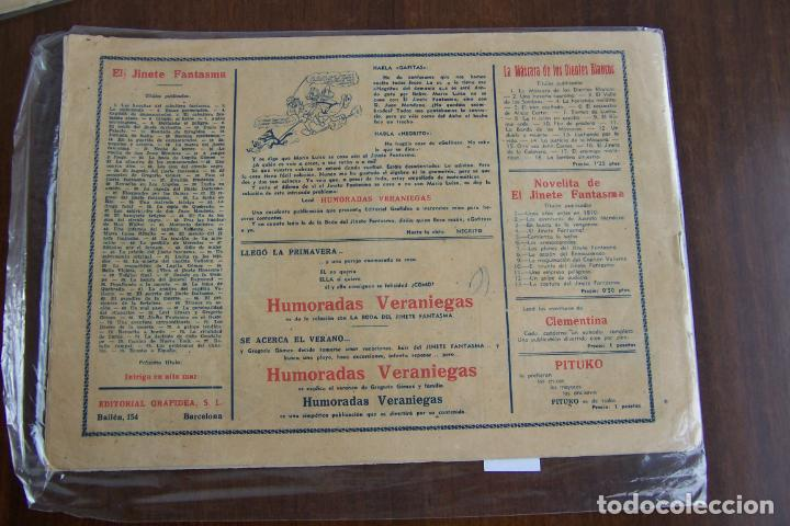 Tebeos: el jinete fantasma nº 79 rumbo a españa - Foto 2 - 148220034
