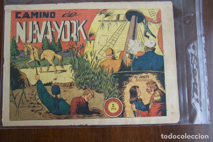 EL JINETE FANTASMA Nº 76 CAMINO DE NUEVA YORK (Tebeos y Comics - Grafidea - El Jinete Fantasma)
