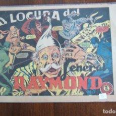 Tebeos: EL JINETE FANTASMANº 58 LA LOCURA DEL GENERAL RAYMOND. Lote 148221330
