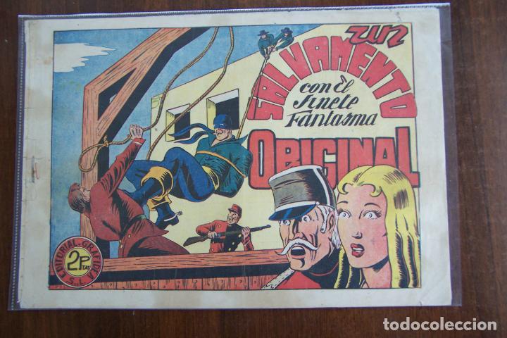 EL JINETE FANTASMA Nº 50 UN SALVAMENTO ORIGINAL (Tebeos y Comics - Grafidea - El Jinete Fantasma)