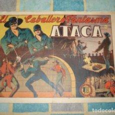 Giornalini: EL CABALLERO FANTASMA 5: ATACA, 1947, GRAFIDEA, BUEN ESTADO. Lote 148250450