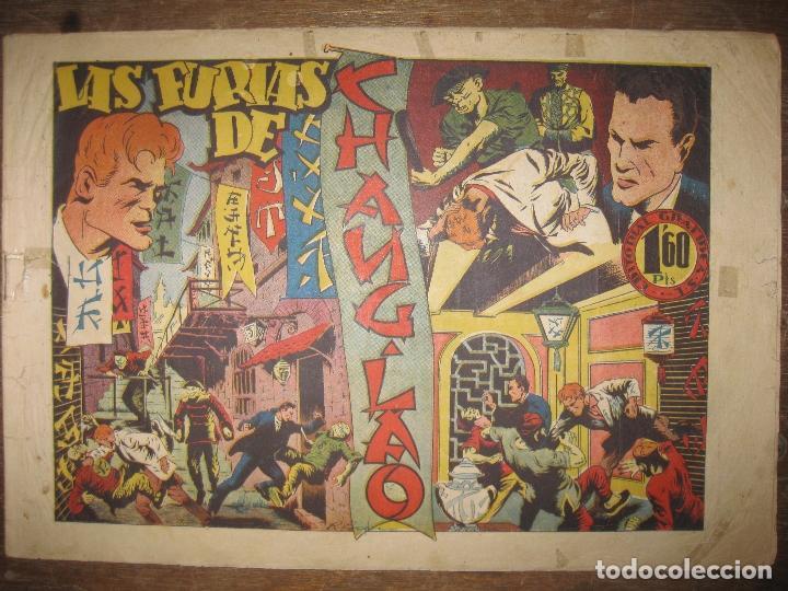 CASIANO BARULLO Nº 22. LAS FURIAS DE CHANG LAO. EDITORIAL GRAFIDEA. ORIGINAL. (Tebeos y Comics - Grafidea - Otros)