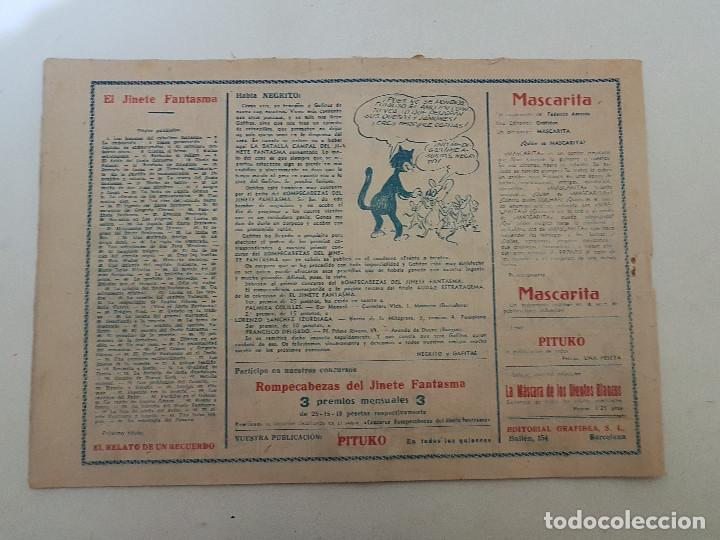 Tebeos: El jinete fantasma. Nº 90. La estrategia de canario. Ediciones Grafidea. - Foto 2 - 151161650