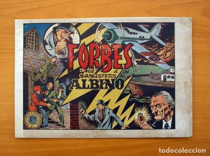 INSPECTOR FORBES - FORBES VENCE A LOS GANGSTERS DE ALBINO - GRAFIDEA 1944 (Tebeos y Comics - Grafidea - Otros)
