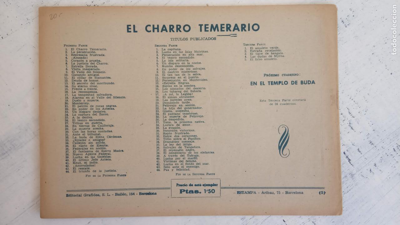 Tebeos: EL AMULETO VERDE - ORIGINALES MAGNÍFICO ESTADO - 4,5,6,7,8,10,12,15,17,18,19,20 GRAFIDEA 1956 - Foto 6 - 152354078
