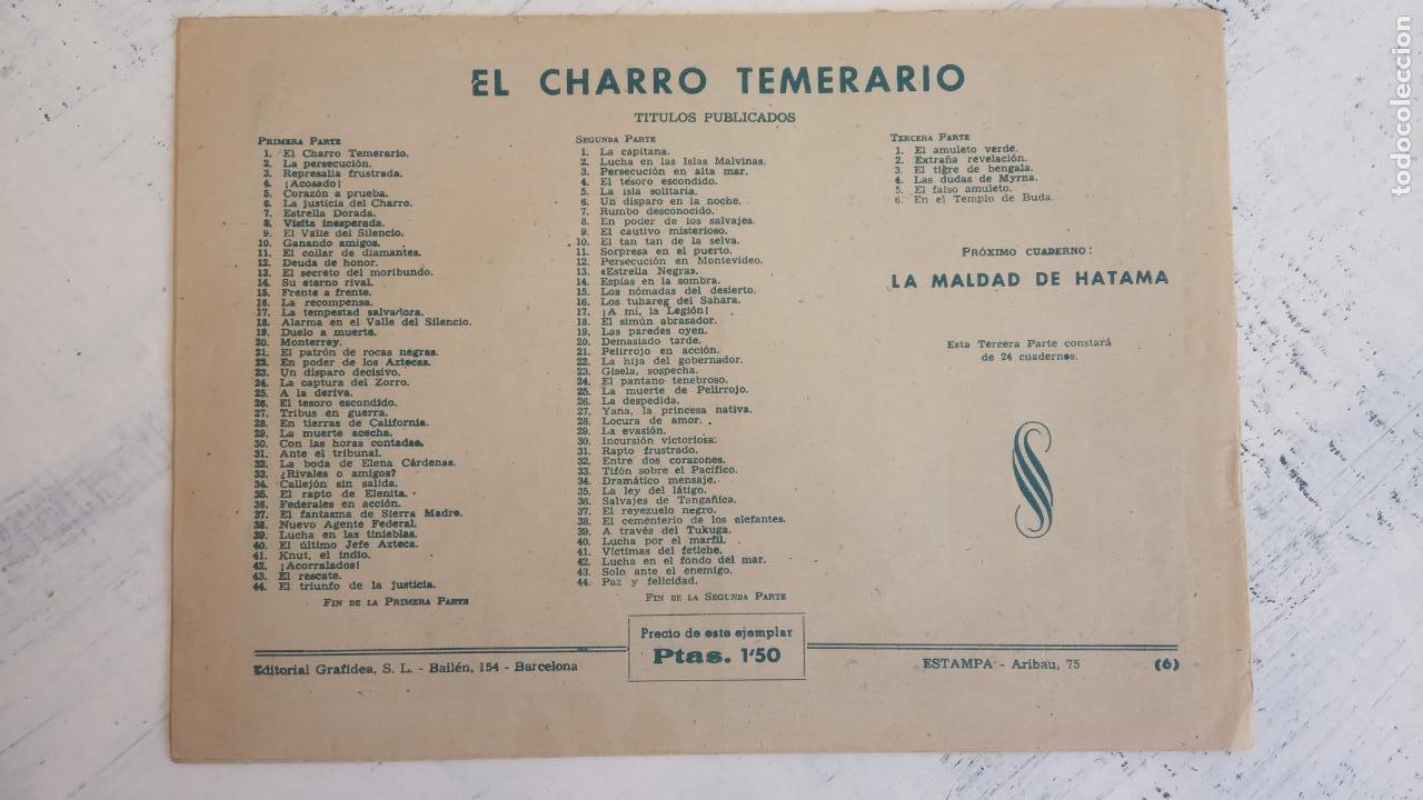 Tebeos: EL AMULETO VERDE - ORIGINALES MAGNÍFICO ESTADO - 4,5,6,7,8,10,12,15,17,18,19,20 GRAFIDEA 1956 - Foto 8 - 152354078