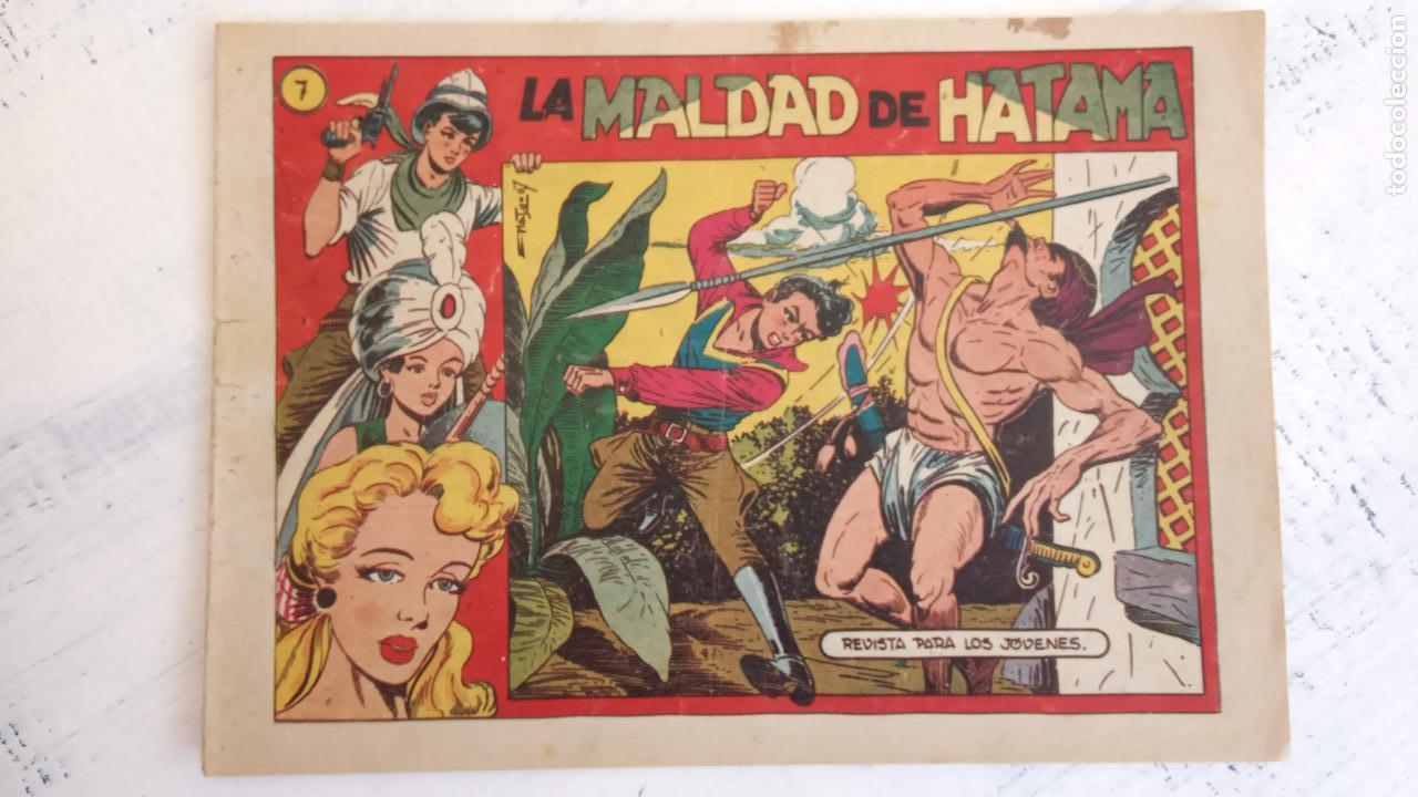 Tebeos: EL AMULETO VERDE - ORIGINALES MAGNÍFICO ESTADO - 4,5,6,7,8,10,12,15,17,18,19,20 GRAFIDEA 1956 - Foto 9 - 152354078