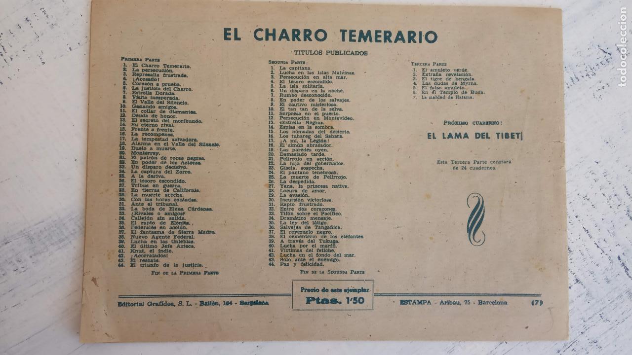 Tebeos: EL AMULETO VERDE - ORIGINALES MAGNÍFICO ESTADO - 4,5,6,7,8,10,12,15,17,18,19,20 GRAFIDEA 1956 - Foto 10 - 152354078