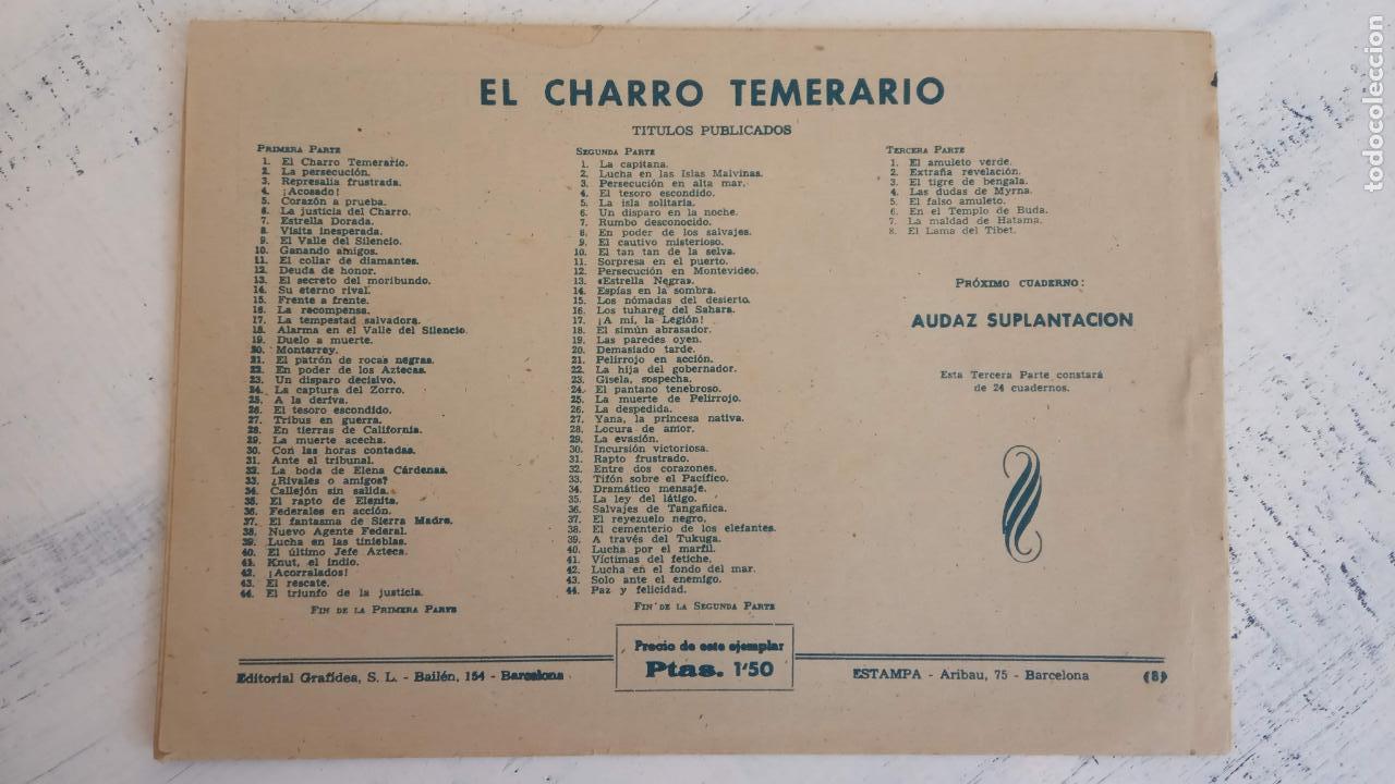 Tebeos: EL AMULETO VERDE - ORIGINALES MAGNÍFICO ESTADO - 4,5,6,7,8,10,12,15,17,18,19,20 GRAFIDEA 1956 - Foto 12 - 152354078