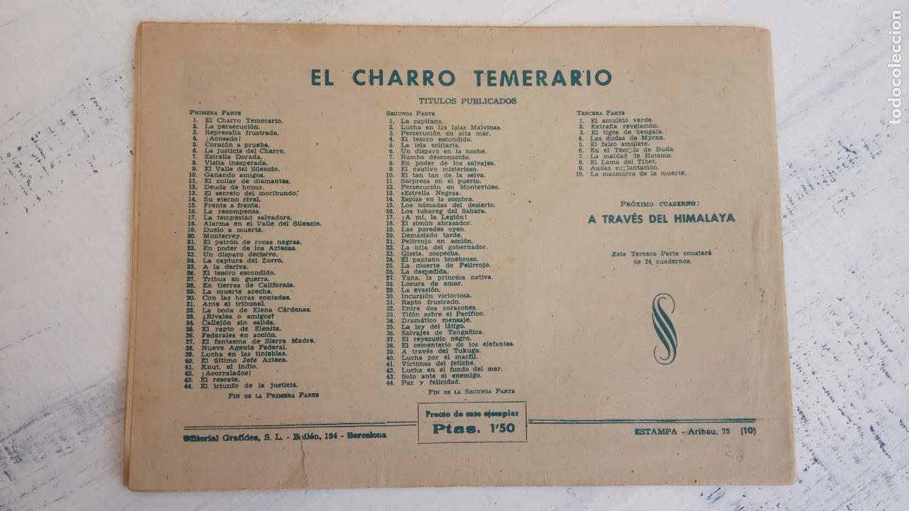 Tebeos: EL AMULETO VERDE - ORIGINALES MAGNÍFICO ESTADO - 4,5,6,7,8,10,12,15,17,18,19,20 GRAFIDEA 1956 - Foto 14 - 152354078