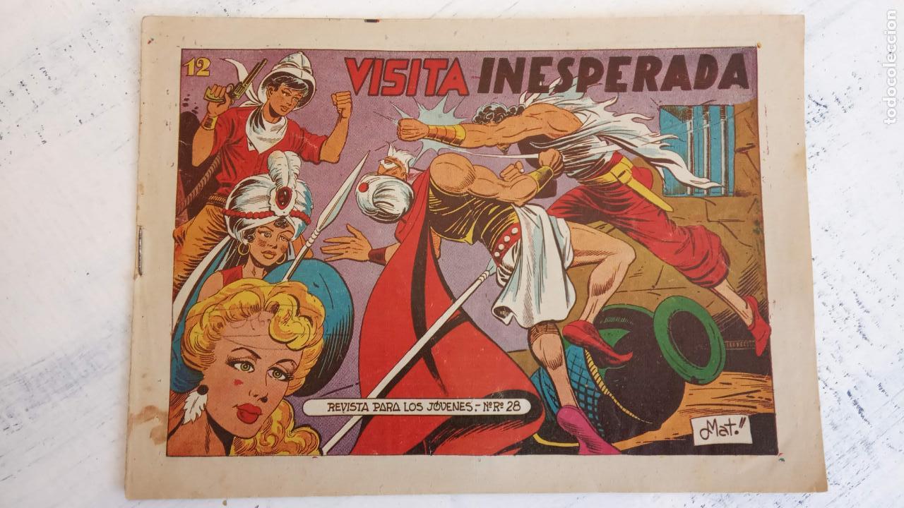 Tebeos: EL AMULETO VERDE - ORIGINALES MAGNÍFICO ESTADO - 4,5,6,7,8,10,12,15,17,18,19,20 GRAFIDEA 1956 - Foto 15 - 152354078