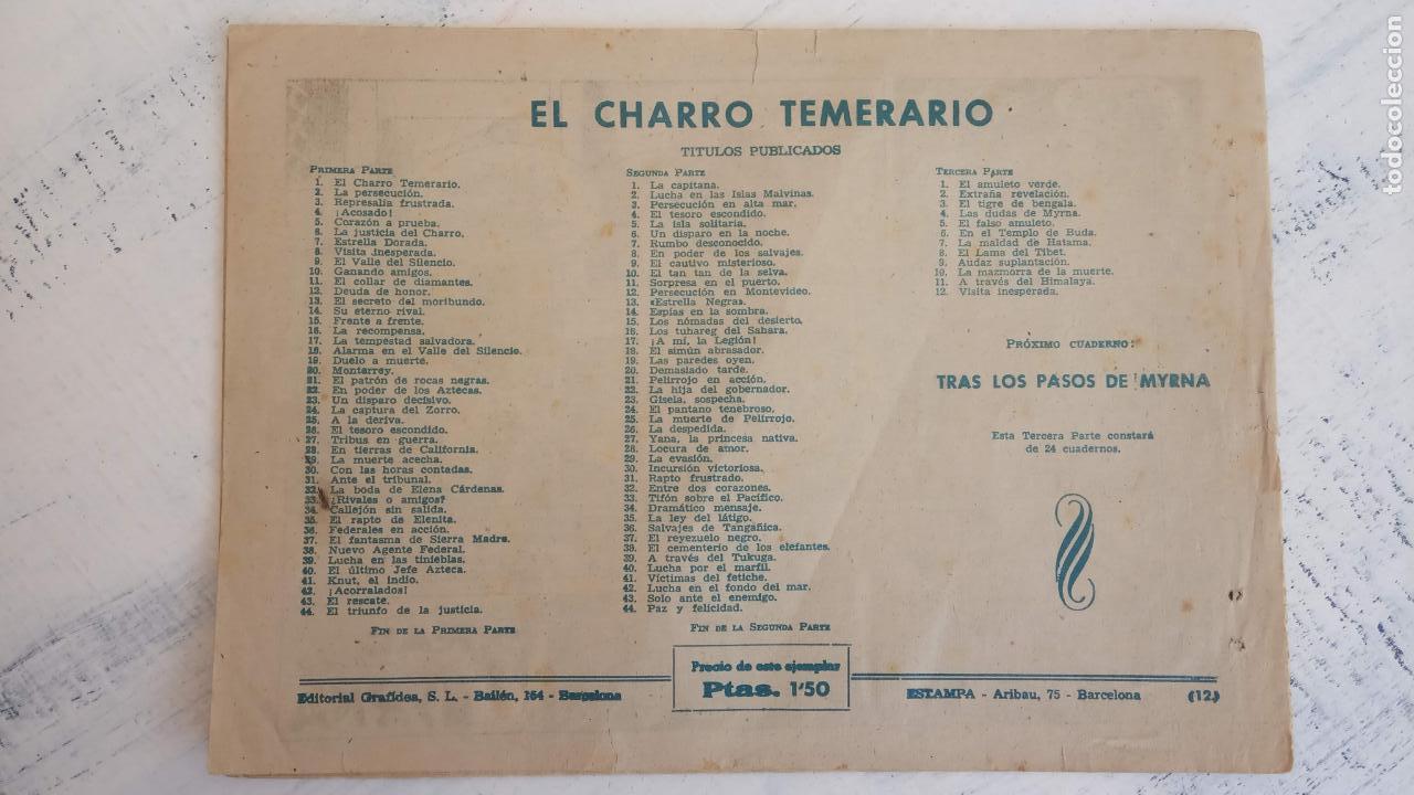 Tebeos: EL AMULETO VERDE - ORIGINALES MAGNÍFICO ESTADO - 4,5,6,7,8,10,12,15,17,18,19,20 GRAFIDEA 1956 - Foto 16 - 152354078
