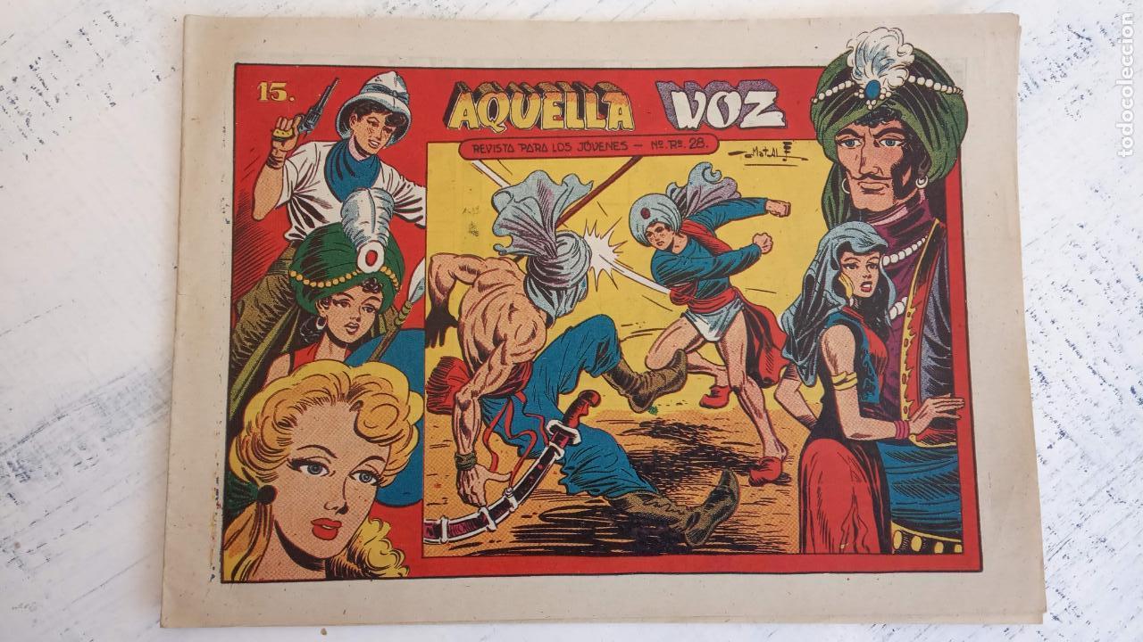 Tebeos: EL AMULETO VERDE - ORIGINALES MAGNÍFICO ESTADO - 4,5,6,7,8,10,12,15,17,18,19,20 GRAFIDEA 1956 - Foto 17 - 152354078