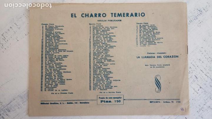 Tebeos: EL AMULETO VERDE - ORIGINALES MAGNÍFICO ESTADO - 4,5,6,7,8,10,12,15,17,18,19,20 GRAFIDEA 1956 - Foto 18 - 152354078