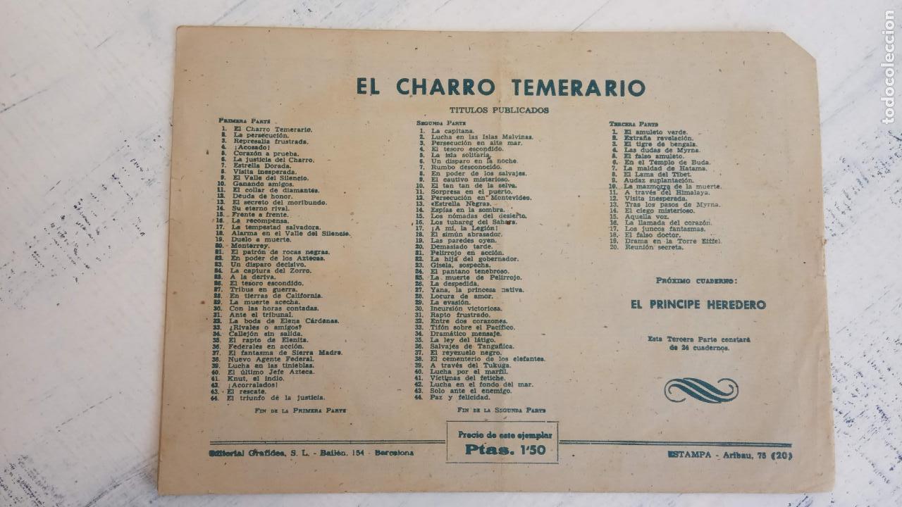 Tebeos: EL AMULETO VERDE - ORIGINALES MAGNÍFICO ESTADO - 4,5,6,7,8,10,12,15,17,18,19,20 GRAFIDEA 1956 - Foto 26 - 152354078