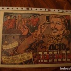 Tebeos: EL JINETE FANTASMA - UN ACTO REBELDE - ORIGINAL - GRAFIDEA. Lote 155168978