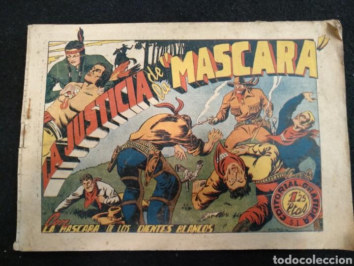 LA MASCARA DE LOS DIENTES BLANCOS N°14, LA JUSTICIA DE LA MASCARA (Tebeos y Comics - Grafidea - Otros)