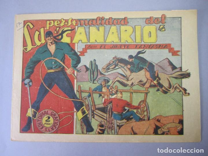 JINETE FANTASMA, EL (1947, GRAFIDEA) - 67 · 1947 · LA PERSONALIDAD DEL CANARIO (Tebeos y Comics - Grafidea - El Jinete Fantasma)
