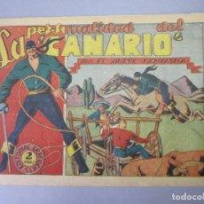 Tebeos: JINETE FANTASMA, EL (1947, GRAFIDEA) - 67 · 1947 · LA PERSONALIDAD DEL CANARIO. Lote 155874058