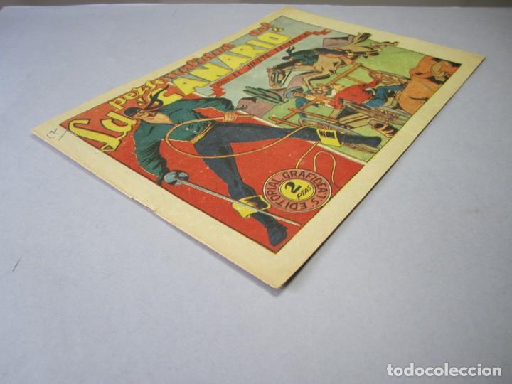 Tebeos: JINETE FANTASMA, EL (1947, GRAFIDEA) - 67 · 1947 · LA PERSONALIDAD DEL CANARIO - Foto 3 - 155874058