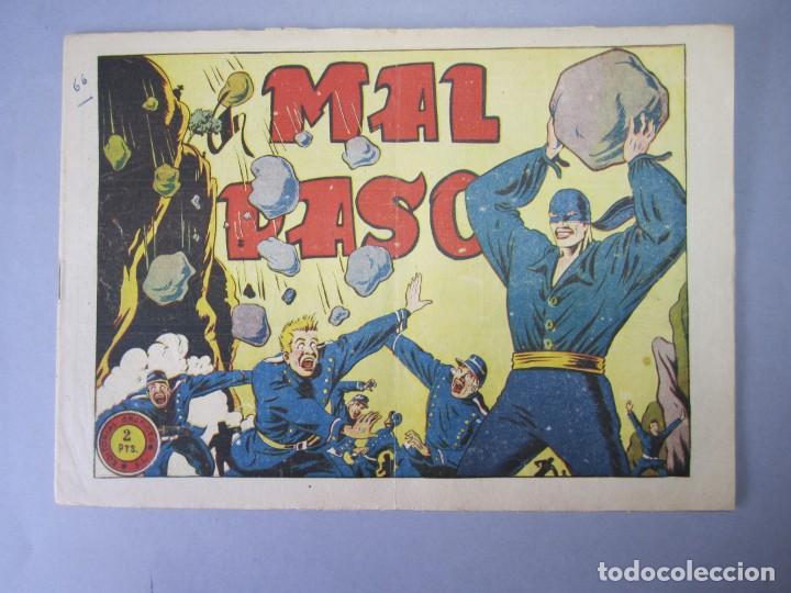 JINETE FANTASMA, EL (1947, GRAFIDEA) -EL CABALLERO FANTASMA- 66 · 1947 · MAL PASO (Tebeos y Comics - Grafidea - El Jinete Fantasma)
