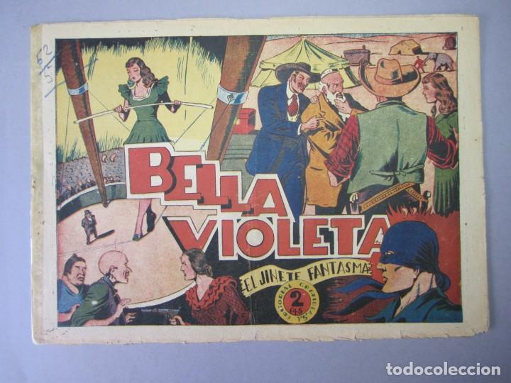JINETE FANTASMA, EL (1947, GRAFIDEA) -EL CABALLERO FANTASMA- 54 · 1947 · BELLA VIOLETA (Tebeos y Comics - Grafidea - El Jinete Fantasma)