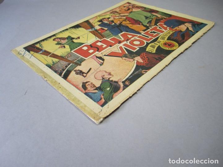 Tebeos: JINETE FANTASMA, EL (1947, GRAFIDEA) -EL CABALLERO FANTASMA- 54 · 1947 · BELLA VIOLETA - Foto 3 - 155874190