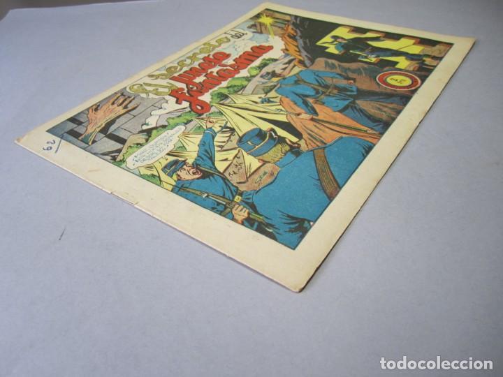 Tebeos: JINETE FANTASMA, EL (1947, GRAFIDEA) -EL CABALLERO FANTASMA- 62 · 1947 · EL SECRETO DEL JINETE FANTA - Foto 3 - 155874302