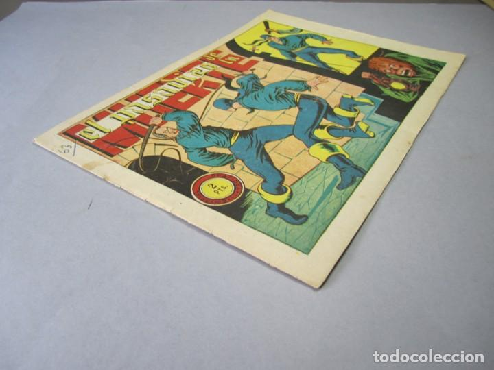 Tebeos: JINETE FANTASMA, EL (1947, GRAFIDEA) -EL CABALLERO FANTASMA- 63 · 1947 · EL PASADIZO DE LA MUERTE - Foto 3 - 155874346