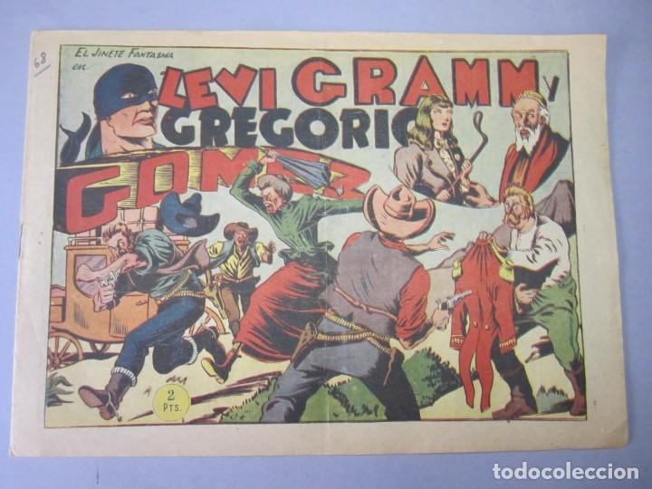 JINETE FANTASMA, EL (1947, GRAFIDEA)- 68 · 1947 · LEVI GRAMM Y GREGORIO GOMEZ (Tebeos y Comics - Grafidea - El Jinete Fantasma)