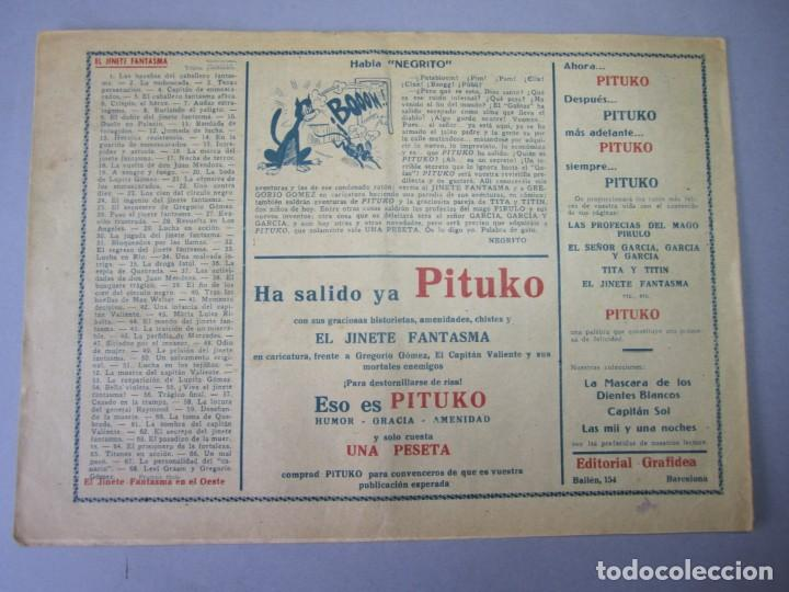 Tebeos: JINETE FANTASMA, EL (1947, GRAFIDEA)- 68 · 1947 · LEVI GRAMM Y GREGORIO GOMEZ - Foto 2 - 155874390
