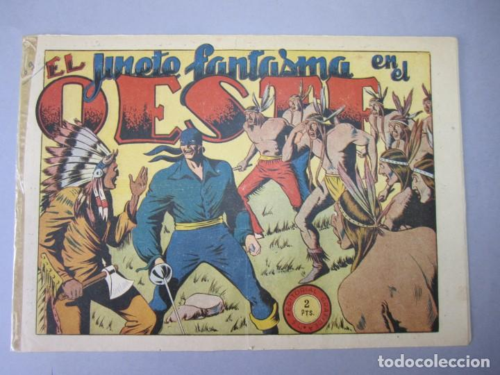 JINETE FANTASMA, EL (1947, GRAFIDEA) -EL CABALLERO FANTASMA- 69 · 1947 · EL JINETE FANTASMA EN EL OE (Tebeos y Comics - Grafidea - El Jinete Fantasma)