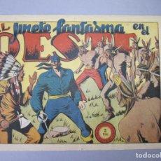 Tebeos: JINETE FANTASMA, EL (1947, GRAFIDEA) -EL CABALLERO FANTASMA- 69 · 1947 · EL JINETE FANTASMA EN EL OE. Lote 155874426
