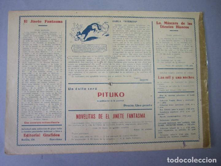 Tebeos: JINETE FANTASMA, EL (1947, GRAFIDEA) -EL CABALLERO FANTASMA- 69 · 1947 · EL JINETE FANTASMA EN EL OE - Foto 2 - 155874426