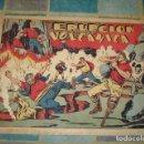 Tebeos: CHISPITA, 4ª AVENTURA Nº 17: ERUPCIÓN VOLCANICA, 1953, GRAFIDEA, SEÑALES DE USO. Lote 157325722