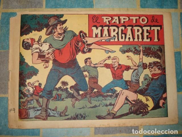 CHISPITA, 4ª AVENTURA, Nº19: EL RAPTO DE MARGARET, 1953, GRAFIDEA, USADO (Tebeos y Comics - Grafidea - Chispita)
