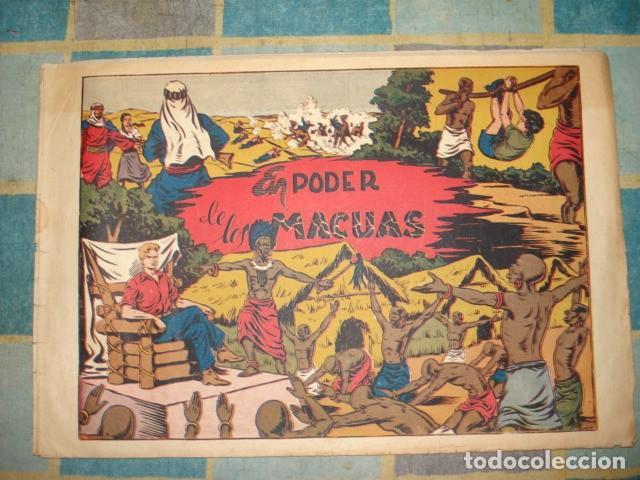 CHISPITA, 4ª AVENTURA, Nº24: EN PODER DE LOS MACUAS, 1953, GRAFIDEA, BUEN ESTADO (Tebeos y Comics - Grafidea - Chispita)