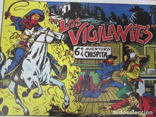 LOS VIGILANTES ( SEXTA AVENTURA DE CHISPITA) (Tebeos y Comics - Grafidea - Chispita)