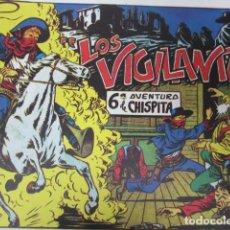 BDs: LOS VIGILANTES ( SEXTA AVENTURA DE CHISPITA). Lote 158206354