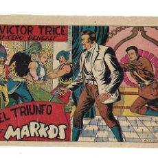 Tebeos: VICTOR TRICE, LANCERO BENGALÍ, AÑO 1953. Nº 7. ES ORIGINAL DIBUJANTE MARTINEZ EDITORIAL GRAFIDEA. Lote 158628562
