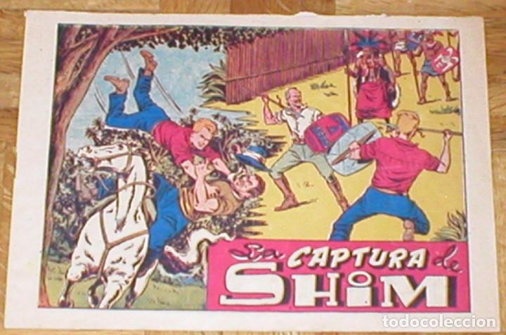 CHISPITA CUARTA AVENTURA Nº 40 LA CAPTURA DE SHIM ORIGINAL 1953 EDIT. GRAFIDEA (Tebeos y Comics - Grafidea - Chispita)