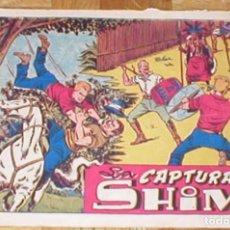Tebeos: CHISPITA CUARTA AVENTURA Nº 40 LA CAPTURA DE SHIM ORIGINAL 1953 EDIT. GRAFIDEA. Lote 161396742