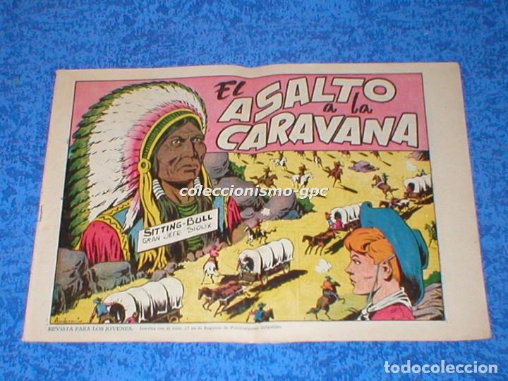 CHISPITA 2ª SEGUNDA AVENTURA Nº 2 TEBEO ORIGINAL 1952 ASALTO A LA CARAVANA EDITORIAL GRAFIDEA MIRA ! (Tebeos y Comics - Grafidea - Chispita)